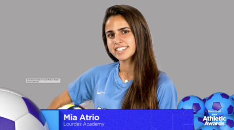 Miami Dade Female Athlete of the Year- Mia Atrio