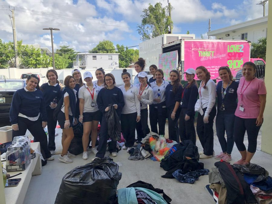 Junior Plunge Experience with The Lotus House, Non-Profit Organization in Overtown, Miami