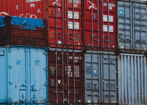 Global Shipping Halted by Container Ship