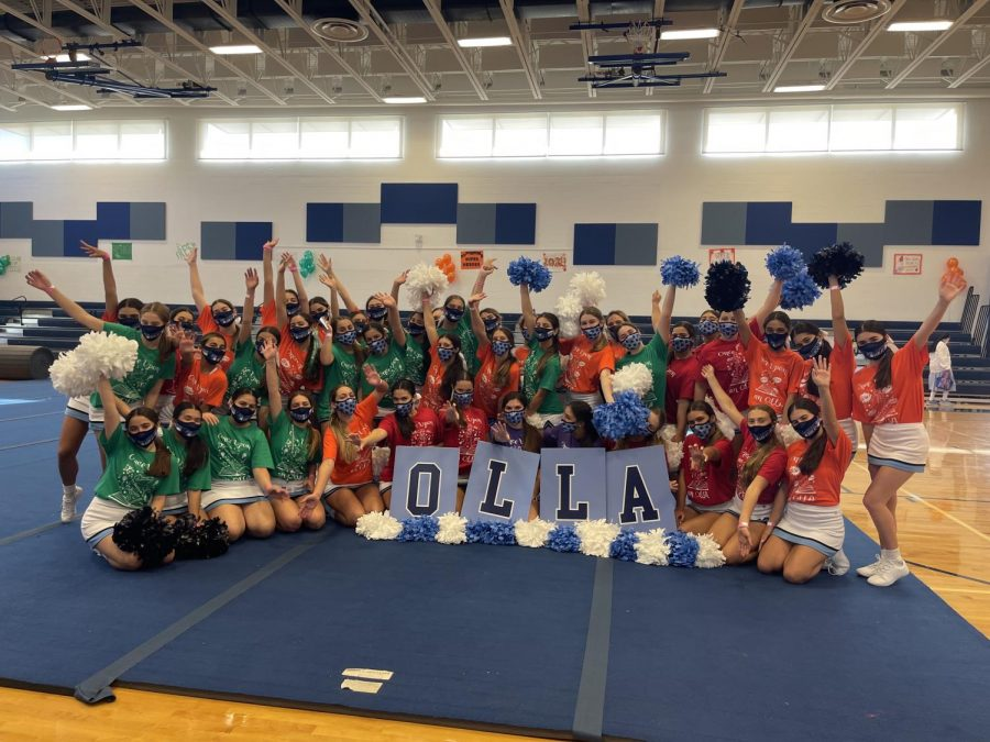Cheer Team Jumps Back into Competition